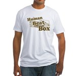 Human Beat Box Fitted T-Shirt