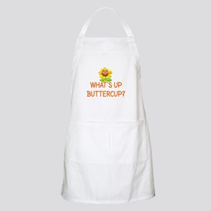 WHAT'S UP BUTTERCUP? Apron