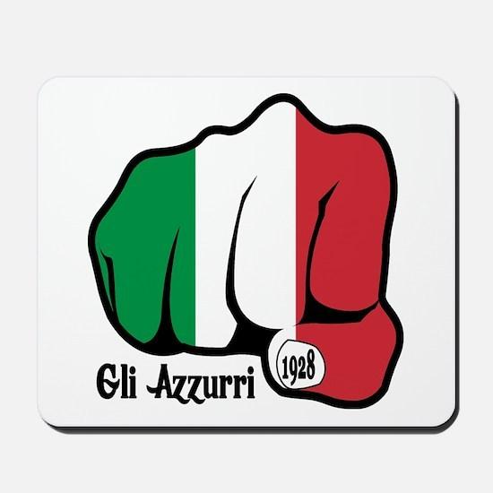 Italian Fist 1928 Mousepad