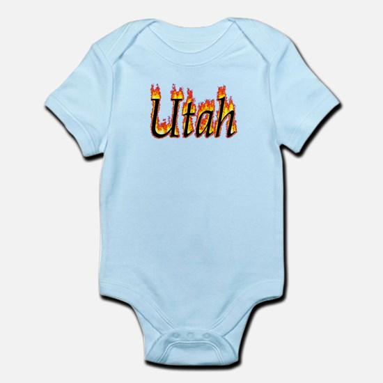 Utah Flame Body Suit