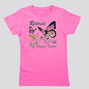 Retired English Teacher Girl's Tee