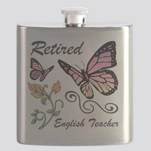 Retired English Teacher Flask