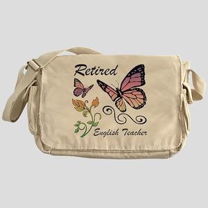 Retired English Teacher Messenger Bag