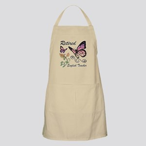 Retired English Teacher Apron