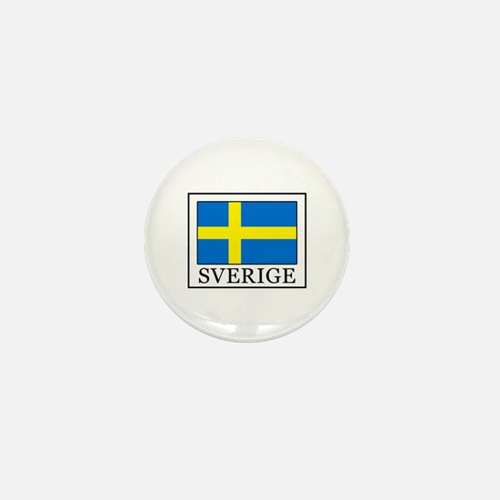Sverige Mini Button
