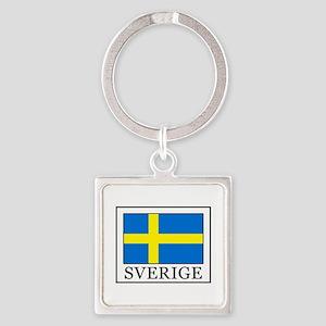 Sverige Keychains