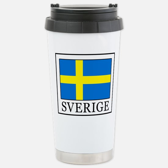 Sverige Stainless Steel Travel Mug