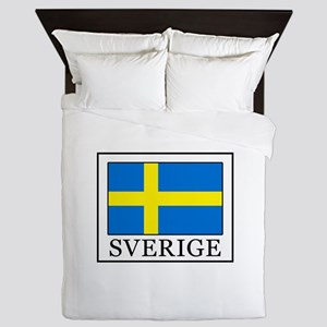 Sverige Queen Duvet