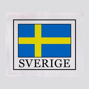Sverige Throw Blanket