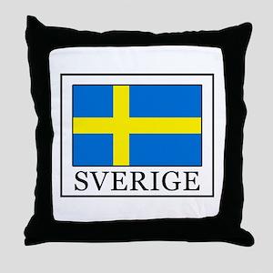 Sverige Throw Pillow