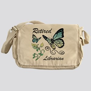 Retired Librarian Messenger Bag