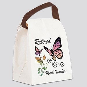 Retired Math Teacher Canvas Lunch Bag