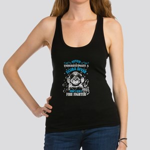 A Scuba Diver Who's Also A Firefighter T Tank Top
