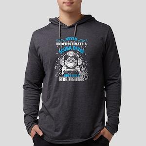 A Scuba Diver Who's Also A Fir Long Sleeve T-Shirt