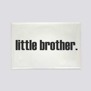 little brother plain Rectangle Magnet