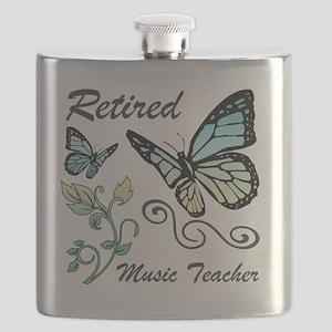 Retired Music Teacher Flask