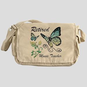 Retired Music Teacher Messenger Bag