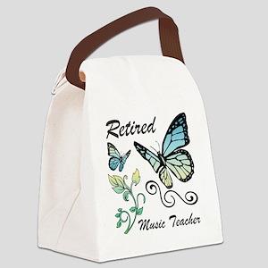 Retired Music Teacher Canvas Lunch Bag