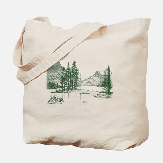 Cute Cadillac mountain Tote Bag