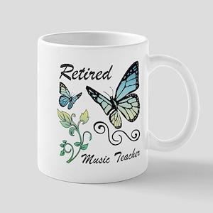 Retired Music Teacher Mugs