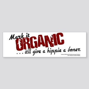 Mark it Organic - Bumper Sticker