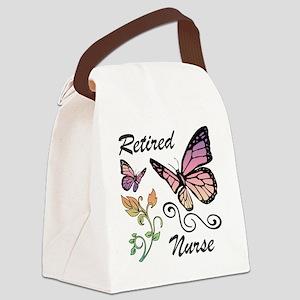 Retired Nurse Canvas Lunch Bag