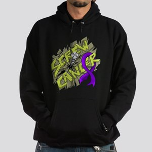 -Screw Pancreatic Cancer 4C Hoodie (dark)