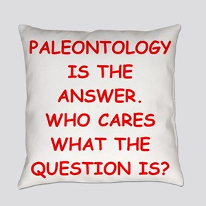 paleontology Everyday Pillow