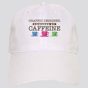 Graphic Designer Powered by Caffeine Cap