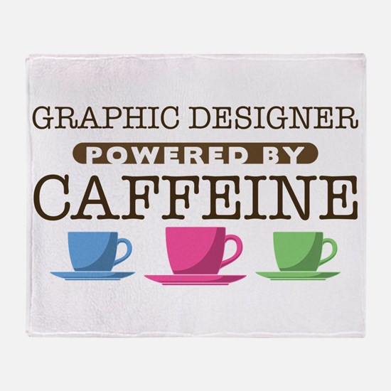 Graphic Designer Powered by Caffeine Stadium Blank