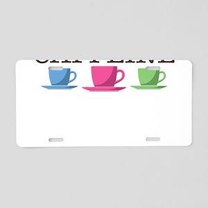 Graphic Designer Powered by Caffeine Aluminum Lice