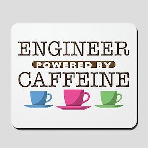 Engineer Powered by Caffeine Mousepad