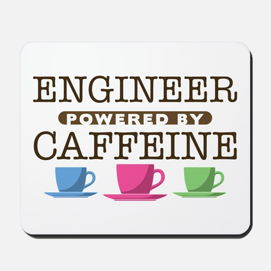 Engineer Powered by Caffeine Mousepad
