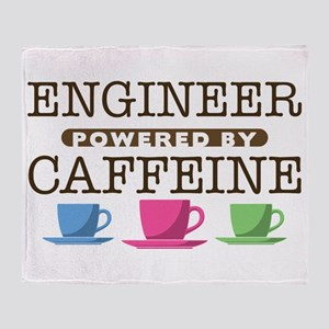 Engineer Powered by Caffeine Stadium Blanket