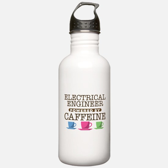 Electrical Engineer Powered by Caffeine Water Bottle
