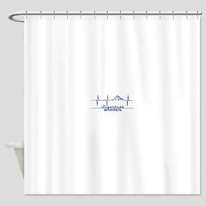 Sugarbush Resort - Warren - Vermo Shower Curtain