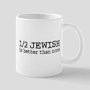 Half Jewish Mug