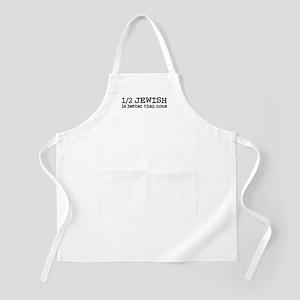 Half Jewish BBQ Apron