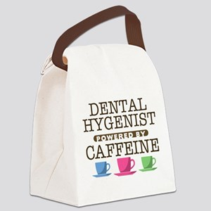 Dental Hygenist Powered by Caffeine Canvas Lunch B