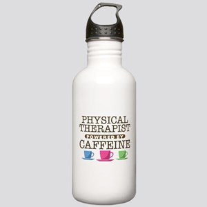 Physical Therapist Powered by Caffeine Stainless W