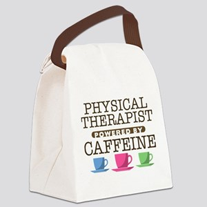 Physical Therapist Powered by Caffeine Canvas Lunc