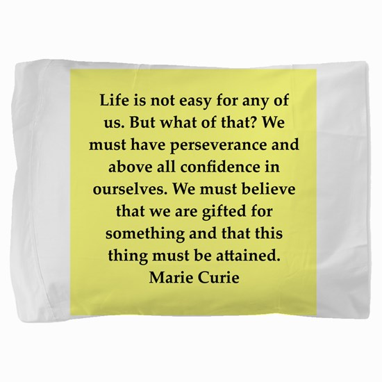 curie11.png Pillow Sham