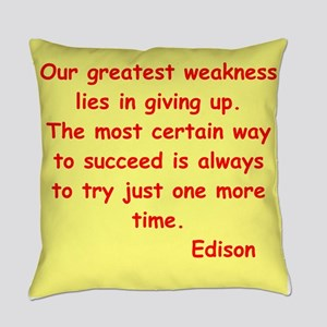 edison12 Everyday Pillow