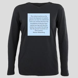 heisenberg5 Plus Size Long Sleeve Tee