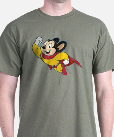 Grunge Mighty Mouse T-Shirt
