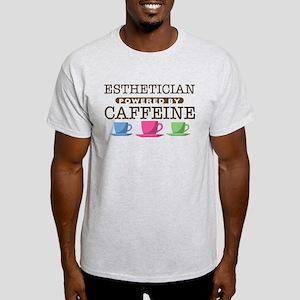 Esthetician Powered by Caffeine Light T-Shirt