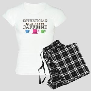 Esthetician Powered by Caffeine Women's Light Paja
