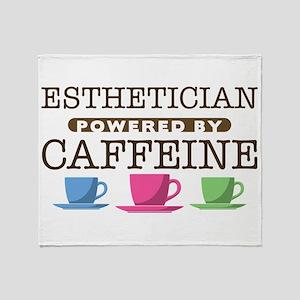 Esthetician Powered by Caffeine Stadium Blanket