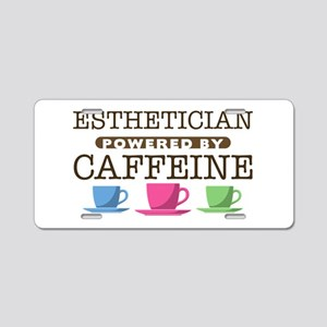Esthetician Powered by Caffeine Aluminum License P