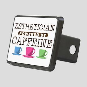 Esthetician Powered by Caffeine Rectangular Hitch